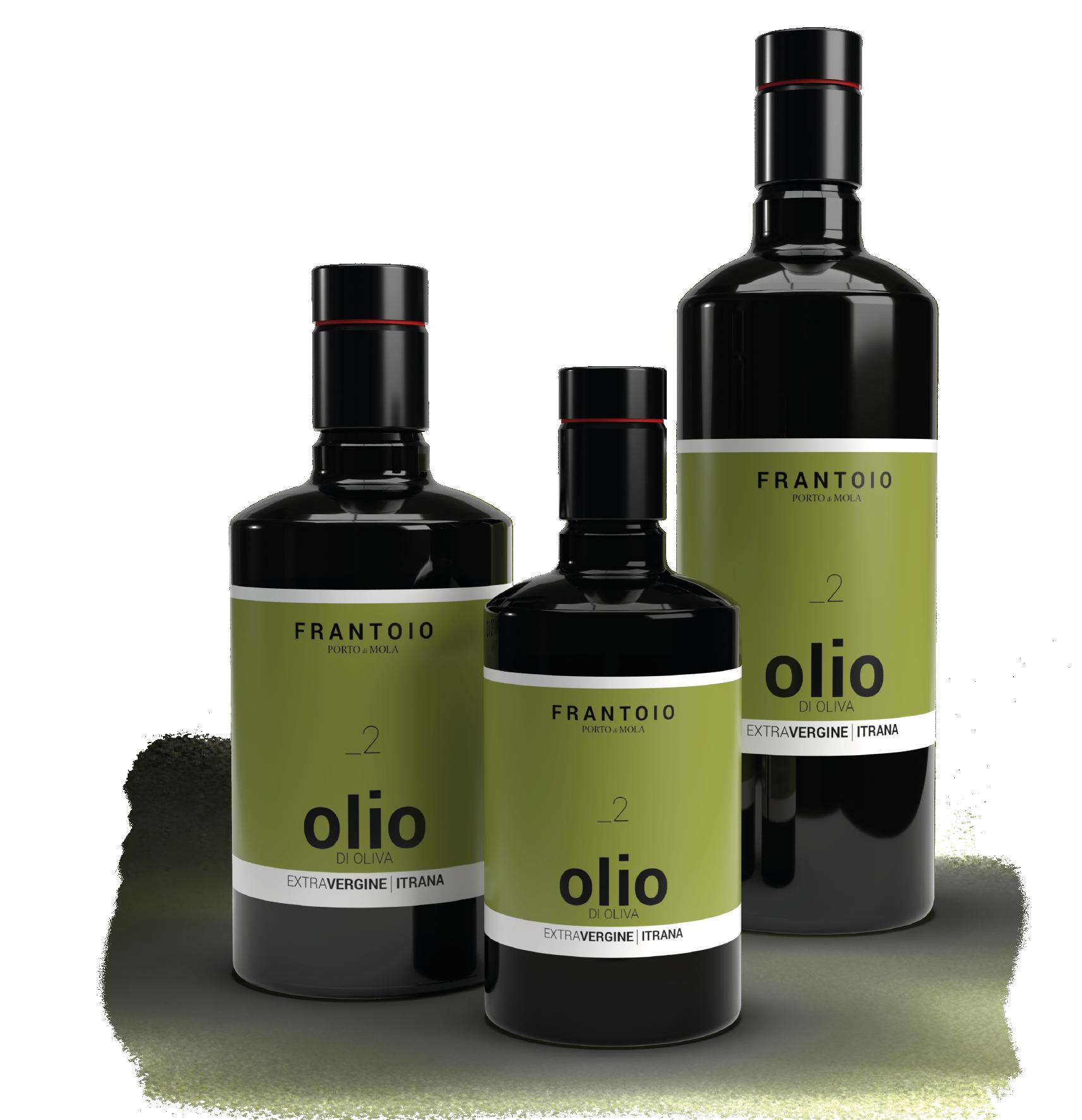 Bottiglie di Olio Monocultivar Itrana