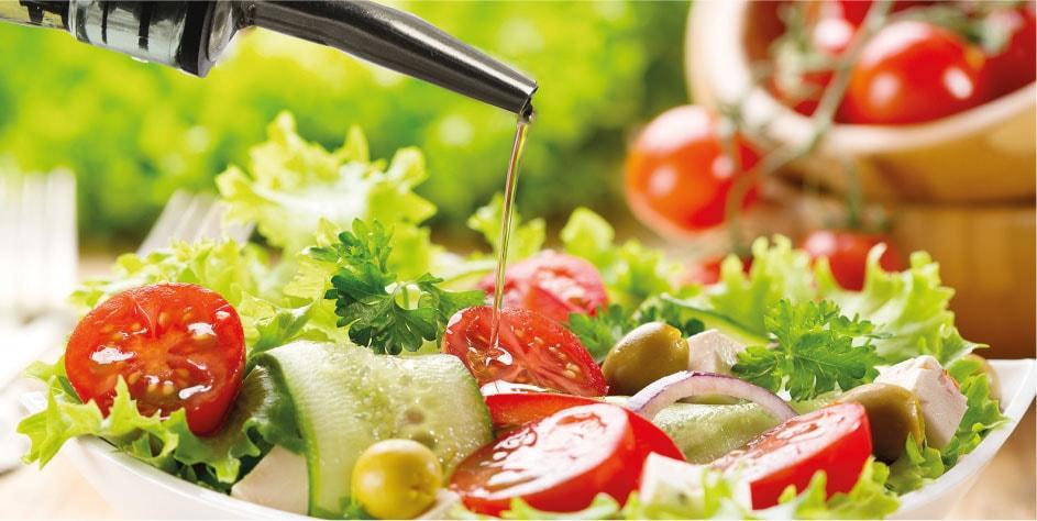 Qual è l'olio adatto per le verdure?